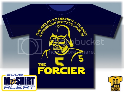 MGoShirt 1 - The Forcier