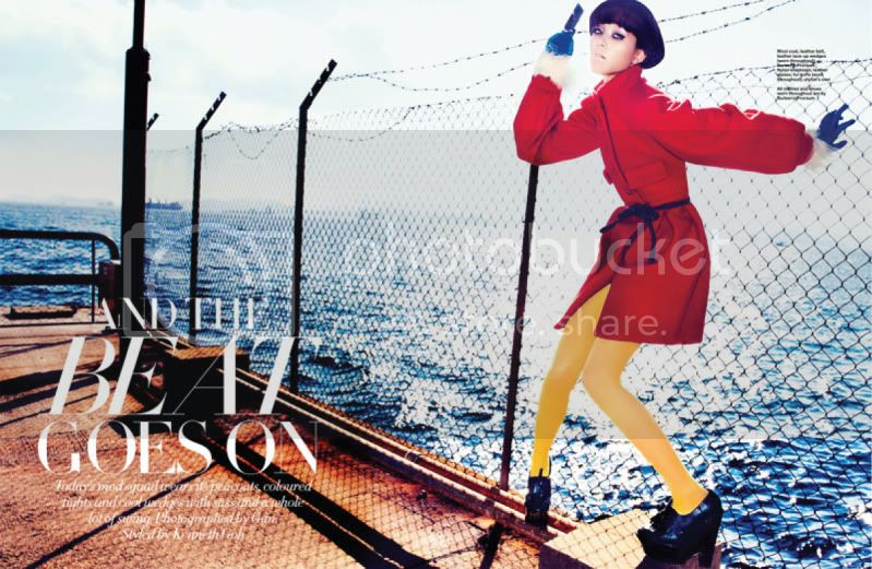 Harper&#8217;s Bazaar Singapore August 2011 - And The Beat Goes On @ Street Stylista