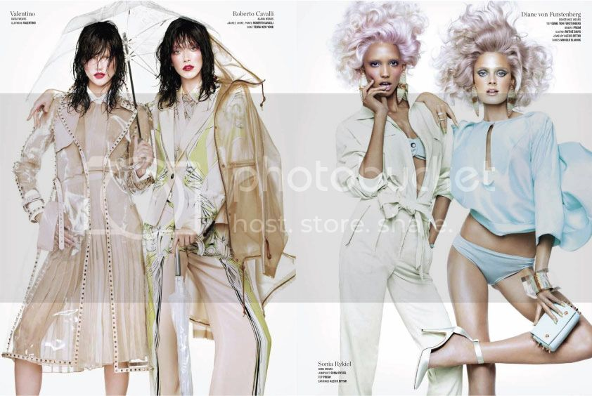V Magazine #82 Spring 2013 - Double Vision 4 photo Double-Vision-4_zpse3427854.jpg @ Street Stylista