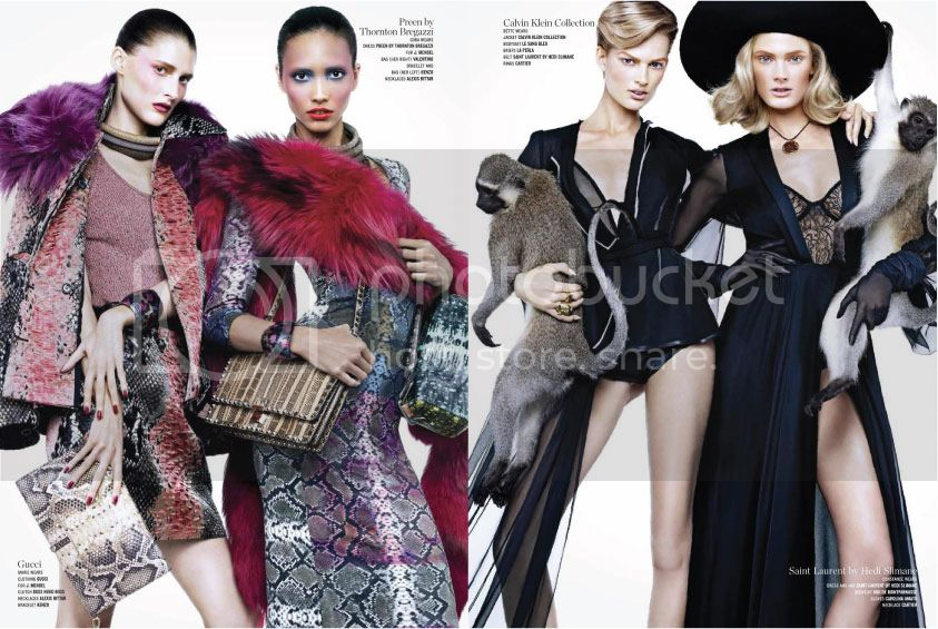 V Magazine #82 Spring 2013 - Double Vision 5 photo Double-Vision-5_zps33cb35cc.jpg @ Street Stylista