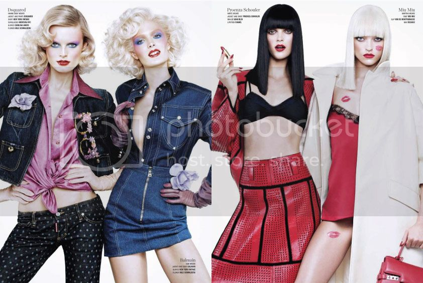 V Magazine #82 Spring 2013 - Double Vision 6 photo Double-Vision-6_zpsce9f0c56.jpg @ Street Stylista