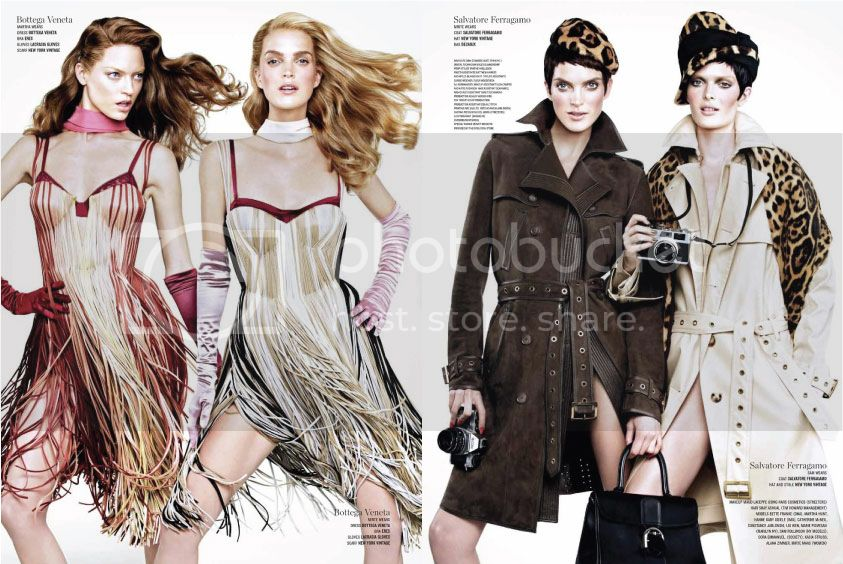 V Magazine #82 Spring 2013 - Double Vision 8 photo Double-Vision-8_zpsb3660c4a.jpg @ Street Stylista