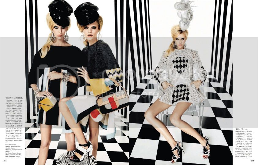 Vogue Japan March 2013 - Graphics Gone Wild 7 photo Graphics-Gone-Wild-7_zps109577e7.jpg @ Street Stylista