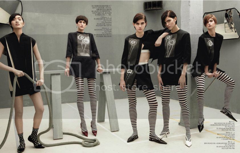 Vogue China February 2013 - Mod Revolution 2 photo Mod-Revolution-2_zpsb0fe41e0.jpg @ Street Stylista