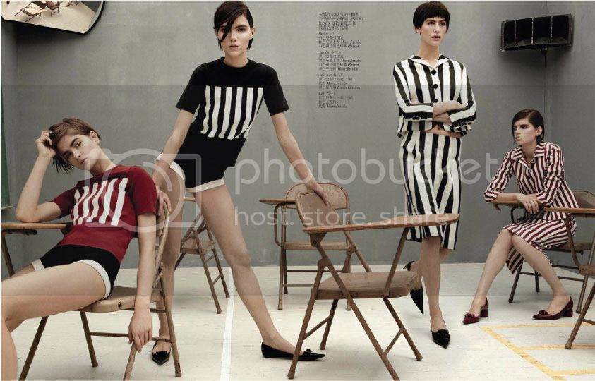 Vogue China February 2013 - Mod Revolution 3 photo Mod-Revolution-3_zpsb47410a6.jpg @ Street Stylista