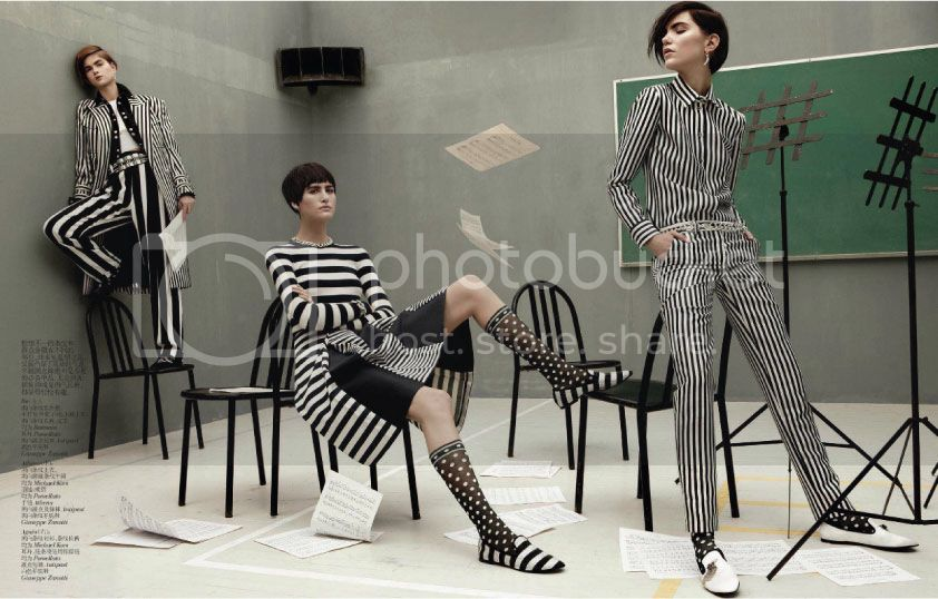 Vogue China February 2013 - Mod Revolution 7 photo Mod-Revolution-7_zps16831859.jpg @ Street Stylista