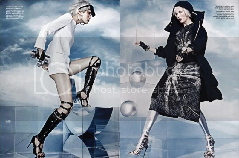 Vogue Korea April 2013 - Sky Fall 4 photo Sky-Fall-4_zps4586cf88.jpg @ Street Stylista