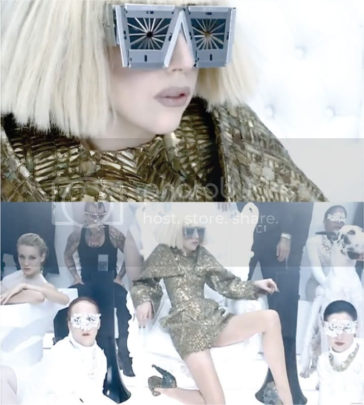Lady Gaga Bad Romance MTV Stills @ Street Stylista