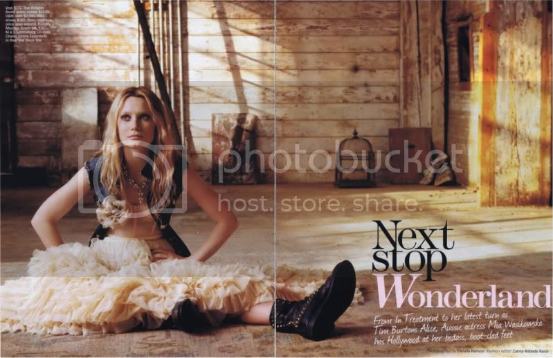 Marie Claire US March 2010 - Next Stop Wonderland @ Street Stylista