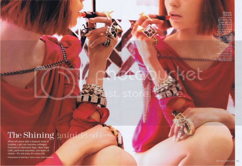 Marie Claire US June 2010 - The Shining @ Street Stylista